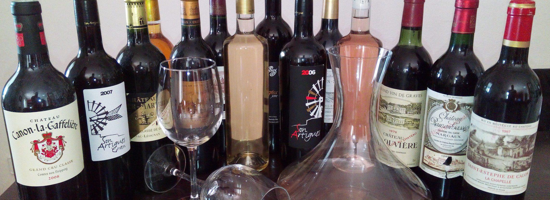 individuelle Weinprobe